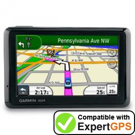 Download your Garmin nüvi 1390T waypoints and tracklogs and create maps with ExpertGPS