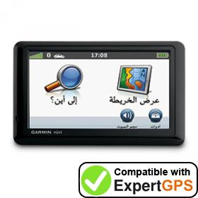 Download your Garmin nüvi 1410 waypoints and tracklogs and create maps with ExpertGPS