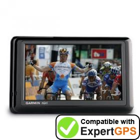 Download your Garmin nüvi 1490TV waypoints and tracklogs and create maps with ExpertGPS