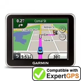 Download your Garmin nüvi 2200 waypoints and tracklogs and create maps with ExpertGPS
