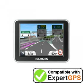 Download your Garmin nüvi 2240 waypoints and tracklogs and create maps with ExpertGPS