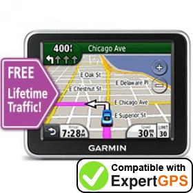 Download your Garmin nüvi 2250LT waypoints and tracklogs and create maps with ExpertGPS
