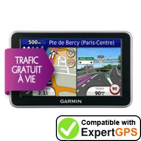 Download your Garmin nüvi 2340LT waypoints and tracklogs and create maps with ExpertGPS