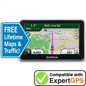 Download your Garmin nüvi 2350LMT waypoints and tracklogs and create maps with ExpertGPS