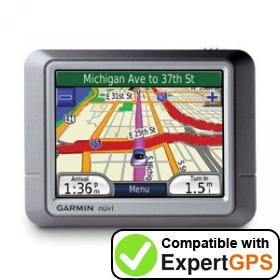 Download your Garmin nüvi 250 waypoints and tracklogs and create maps with ExpertGPS