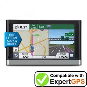 Download your Garmin nüvi 2597LMT waypoints and tracklogs and create maps with ExpertGPS