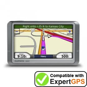 Download your Garmin nüvi 260W waypoints and tracklogs and create maps with ExpertGPS