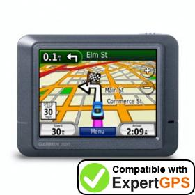 Download your Garmin nüvi 265T waypoints and tracklogs and create maps with ExpertGPS