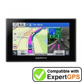 Download your Garmin nüvi 2699LMT-D waypoints and tracklogs and create maps with ExpertGPS