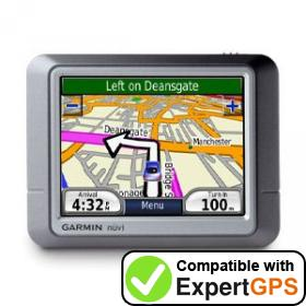 Download your Garmin nüvi 270 waypoints and tracklogs and create maps with ExpertGPS