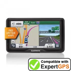 Download your Garmin nüvi 2757LM waypoints and tracklogs and create maps with ExpertGPS