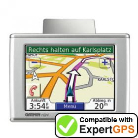 Download your Garmin nüvi 310T waypoints and tracklogs and create maps with ExpertGPS