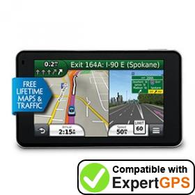 Download your Garmin nüvi 3490LMT waypoints and tracklogs and create maps with ExpertGPS