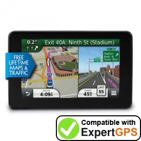 Download your Garmin nüvi 3580LMT waypoints and tracklogs and create maps with ExpertGPS