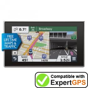 Download your Garmin nüvi 3597LMTHD waypoints and tracklogs and create maps with ExpertGPS