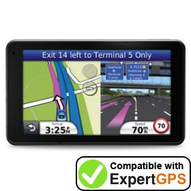 Download your Garmin nüvi 3710 waypoints and tracklogs and create maps with ExpertGPS