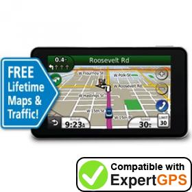 Download your Garmin nüvi 3760LMT waypoints and tracklogs and create maps with ExpertGPS