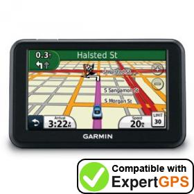 Download your Garmin nüvi 40 waypoints and tracklogs and create maps with ExpertGPS