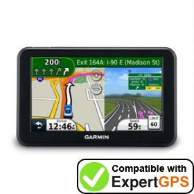 Download your Garmin nüvi 50 waypoints and tracklogs and create maps with ExpertGPS