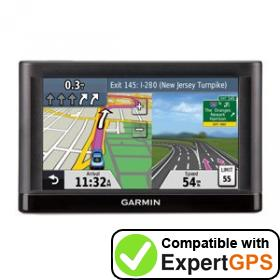 Download your Garmin nüvi 54 waypoints and tracklogs and create maps with ExpertGPS