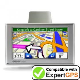 Download your Garmin nüvi 600 waypoints and tracklogs and create maps with ExpertGPS