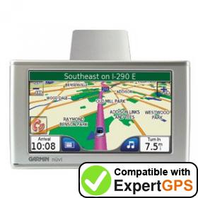 Download your Garmin nüvi 660FM waypoints and tracklogs and create maps with ExpertGPS