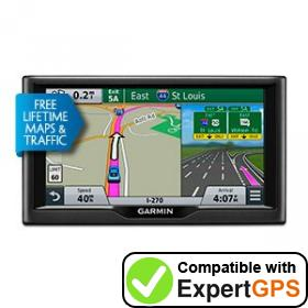 Download your Garmin nüvi 67LMT waypoints and tracklogs and create maps with ExpertGPS