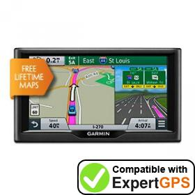 Download your Garmin nüvi 68LM waypoints and tracklogs and create maps with ExpertGPS