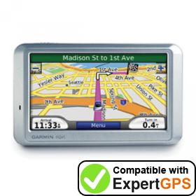 Download your Garmin nüvi 710 waypoints and tracklogs and create maps with ExpertGPS