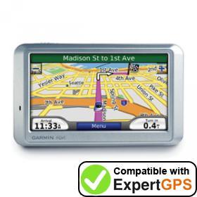 ExpertGPS supports the Garmin nüvi 710