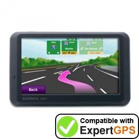 Download your Garmin nüvi 765T waypoints and tracklogs and create maps with ExpertGPS