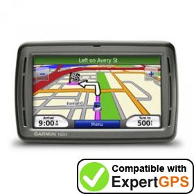 Download your Garmin nüvi 860 waypoints and tracklogs and create maps with ExpertGPS