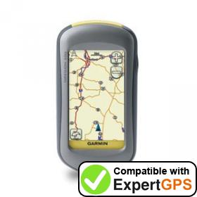 Download your Garmin Oregon 200 waypoints and tracklogs and create maps with ExpertGPS