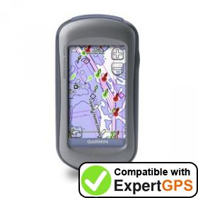 Download your Garmin Oregon 400c waypoints and tracklogs and create maps with ExpertGPS