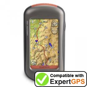 Download your Garmin Oregon 450 waypoints and tracklogs and create maps with ExpertGPS