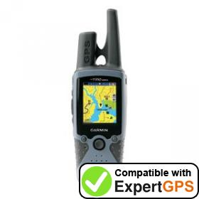 Download your Garmin Rino 520HCx waypoints and tracklogs and create maps with ExpertGPS