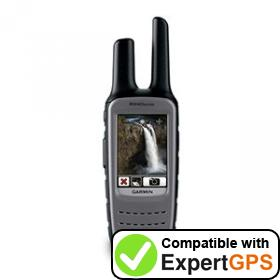 Download your Garmin Rino 655t waypoints and tracklogs and create maps with ExpertGPS