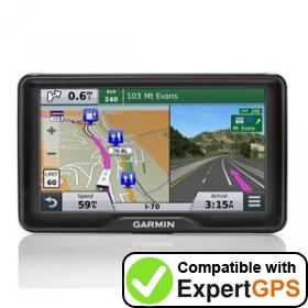 Download your Garmin RV 760LMT waypoints and tracklogs and create maps with ExpertGPS