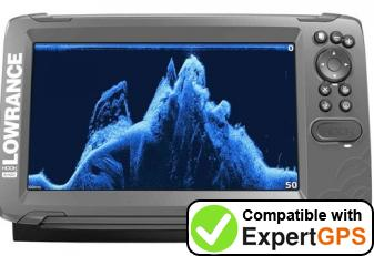 Download your Lowrance HOOK2-9 waypoints and tracklogs and create maps with ExpertGPS