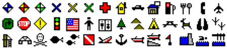 ExpertGPS map symbols for Eagle IntelliMap 480