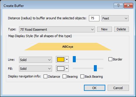 Create Buffer dialog