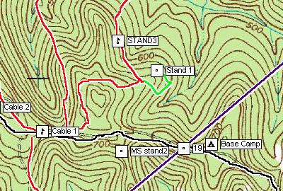 Deer camp map-making is easy with ExpertGPS